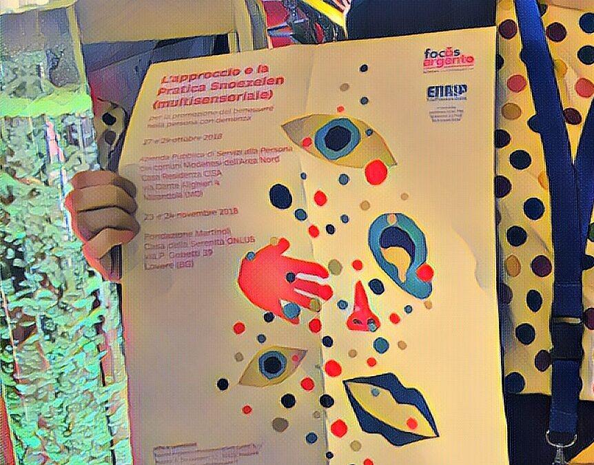Presentazione del progetto Mondo Snoezelen al X Forum della non Autosufficienza, Bologna